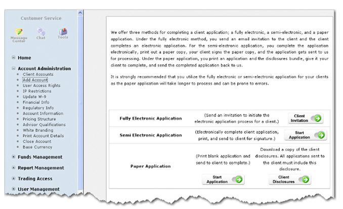 Interactive brokers options software