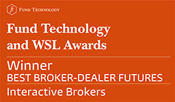 Interactive Brokers reviews: Prix 2017 Fund Technology and WSL Institutional Awards - Meilleur négociateur courtier pour les contrats à terme