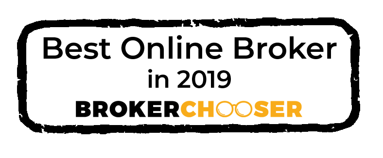 BrokerChooser 2019 Best Online Broker award