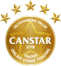 Canstar Outstanding Value for Traders