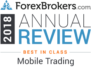 ForexBrokers.com Best in class - Mobile Trading