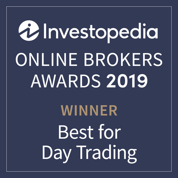 Award Investopedia Best for Day Trading