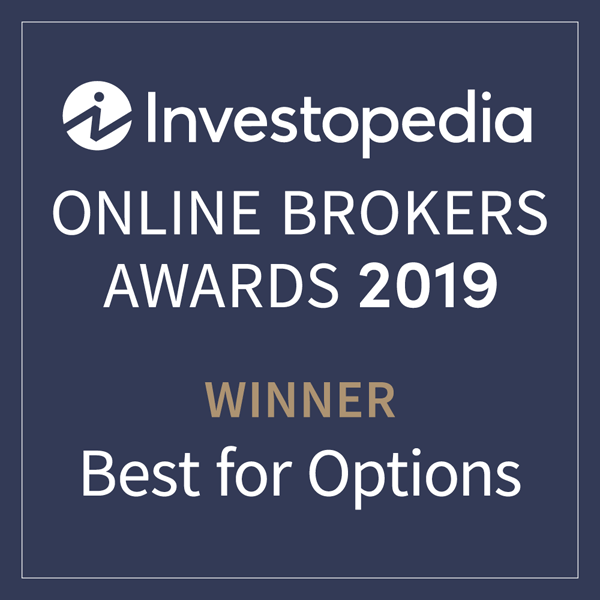 Award Investopedia Best for Options Trading