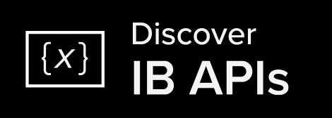 Discover IB APIs