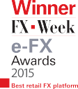 FX Week Award for Forex Trading.