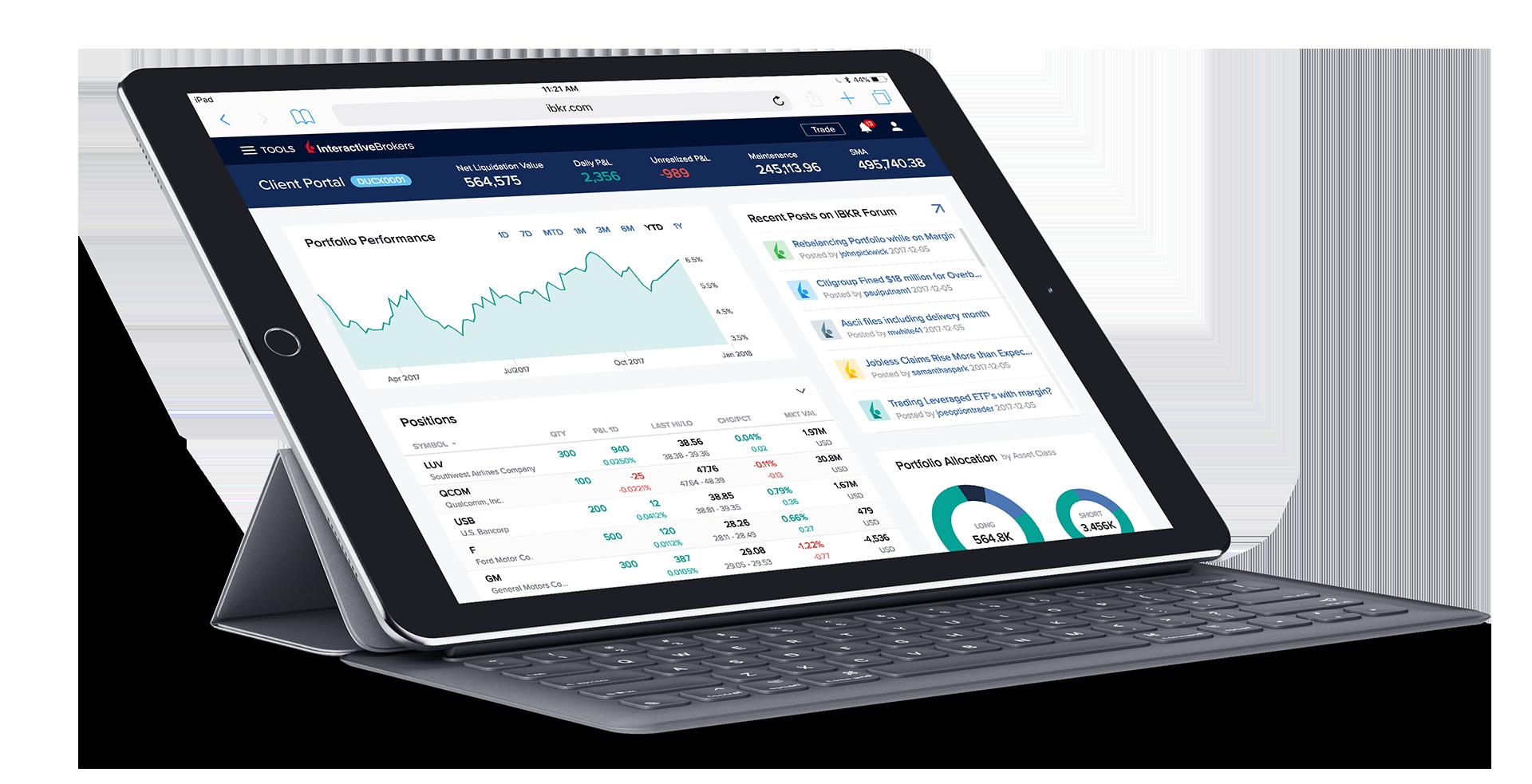 IBKR Trading Platforms | Interactive Brokers