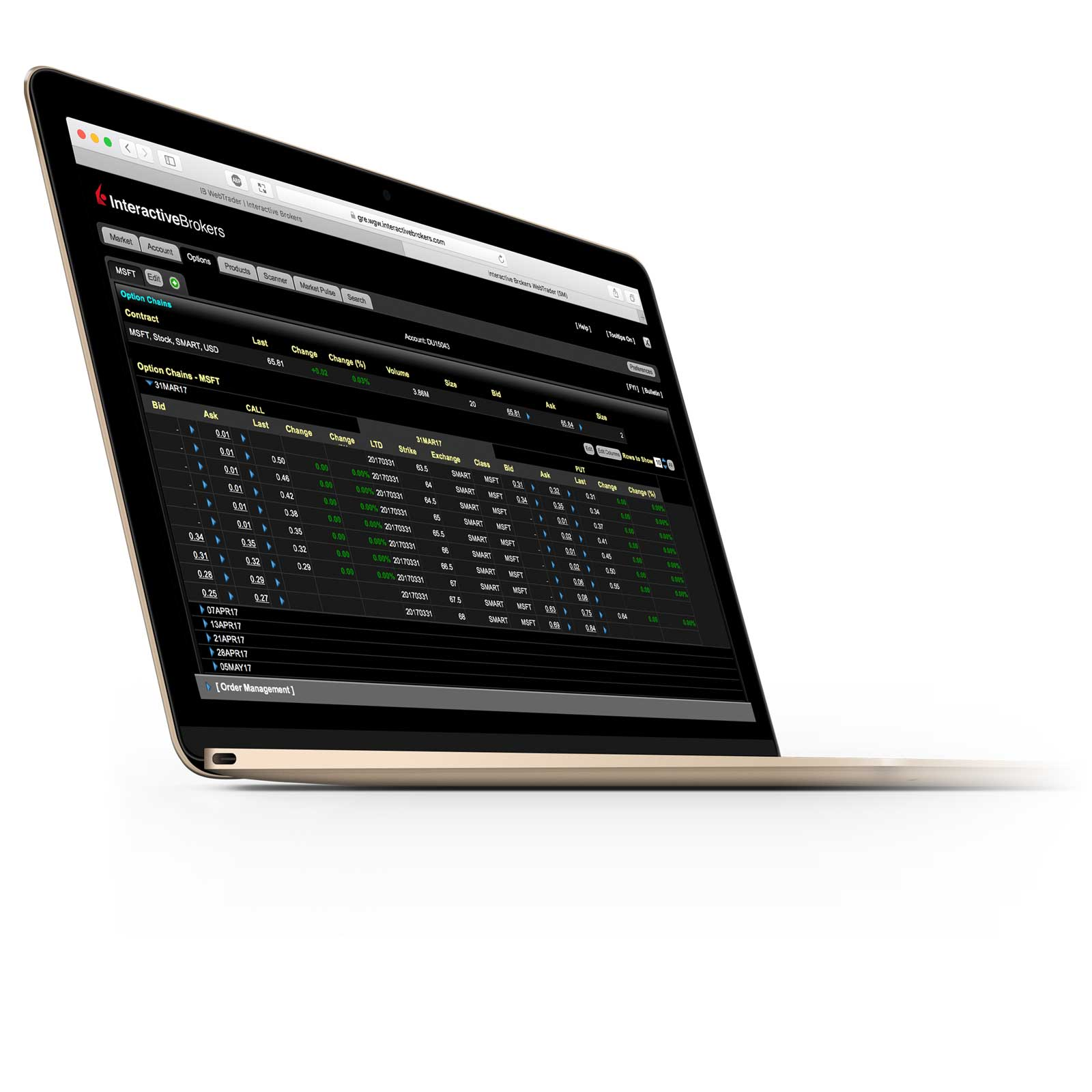 IBKR Trading Platforms | Interactive Brokers