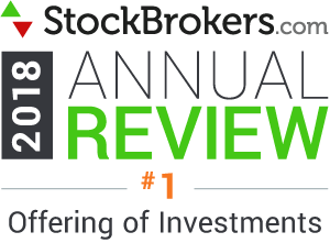Interactive Brokers reviews: 2018 Stockbrokers.com Awards - No 1 - Offre d'investissements