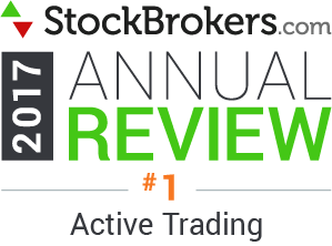 Avis Interactive Brokers: 2017 Stockbrokers.com Awards - Meilleur trading actif