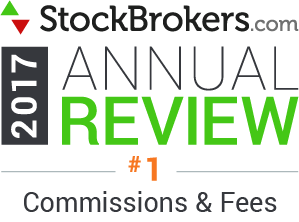Avis Interactive Brokers: 2017 Stockbrokers.com Awards - Commissions et frais les plus bas