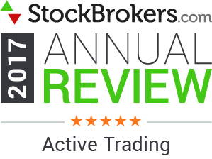 Interactive Brokers reviews: 2017 Stockbrokers.com Awards - 5 étoiles -  Trading actif