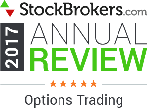 Avis Interactive Brokers: 2017 Stockbrokers.com Awards - 5 stars - Options Trading