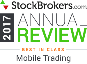 Interactive Brokers reviews: 2017 Stockbrokers.com Awards - Best in Class -  Trading actif