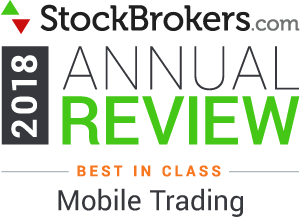 Interactive Brokers reviews: 2018 Stockbrokers.com Awards - Meilleur de sa catégorie en 2018 -  Trading mobile