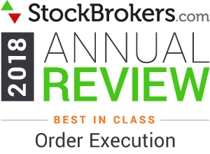 Interactive Brokers reviews: 2018 Stockbrokers.com Awards - Meilleur de sa catégorie en 2018 -  Exécution d'ordre