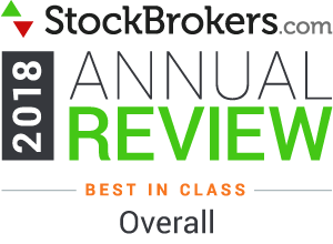 Interactive Brokers reviews: 2018 Stockbrokers.com Awards - Meilleur de sa catégorie globalement en 2018
