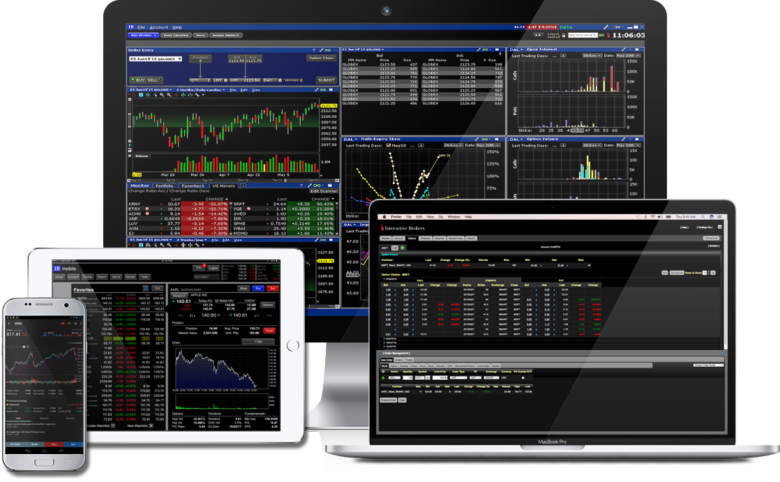 how to connect ninjatrader to interactive brokers