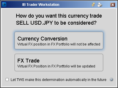 How do i setup a forex instrument with ib and idealpro