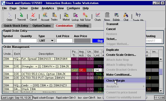 Interactive brokers help line