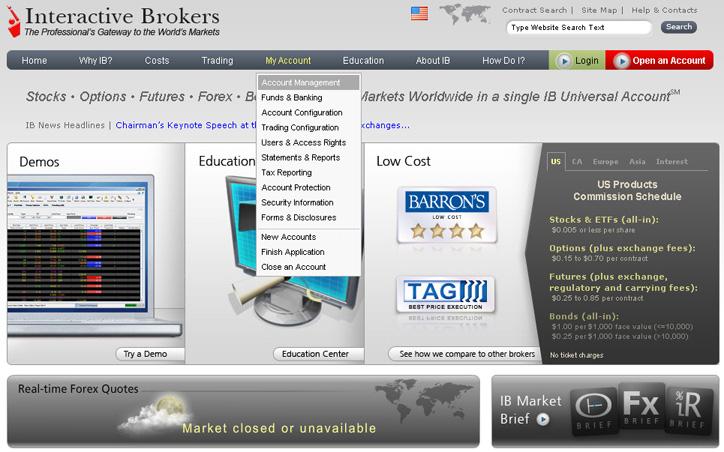 Interactive broker forex calendar