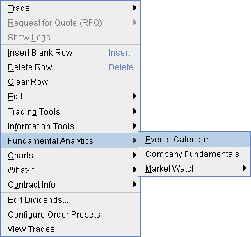 Interactive brokers ticker search