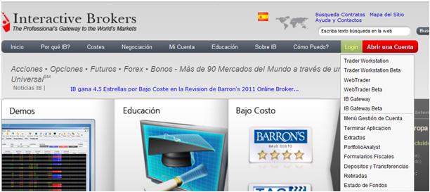 WebTrader   Interactive Brokers