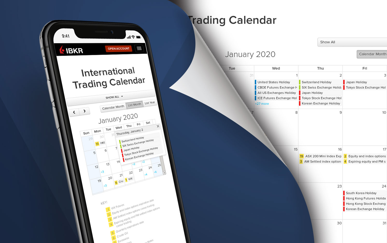 2020 Calendar App