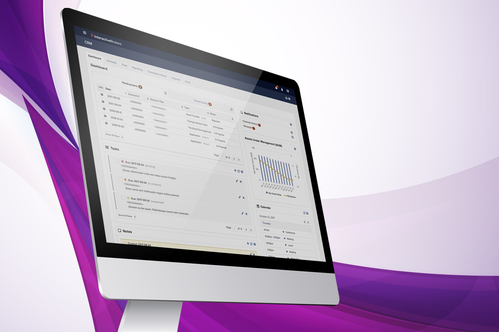 New Account Management Features for Advisors