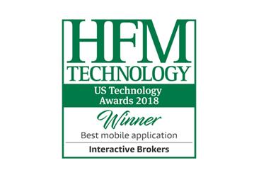 2018年度 - HFMテクノロジー - ベストモバイル取引アプリケーション