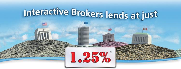 Interactive brokers forex interest rates