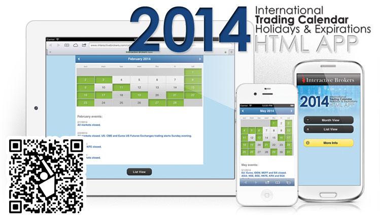 2014 Traders Calendar
