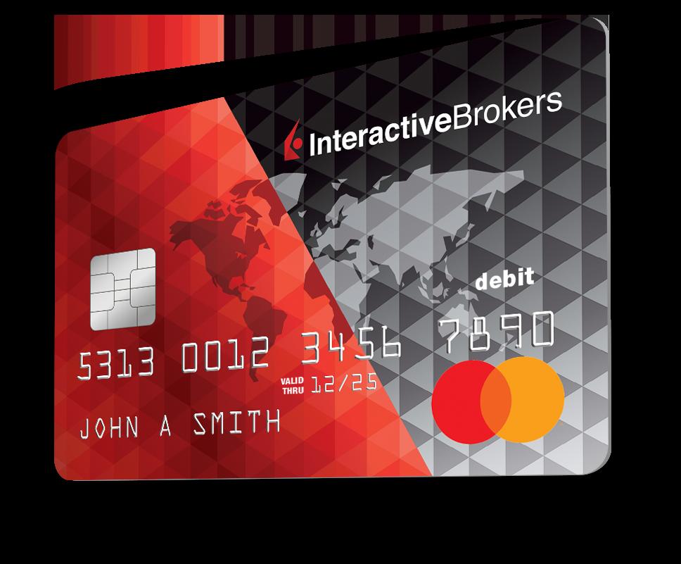 Apply for an IBKR Debit Mastercard Here | Interactive Brokers LLC